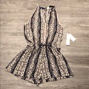 NWT O'Neill Floral Patterned Romper
